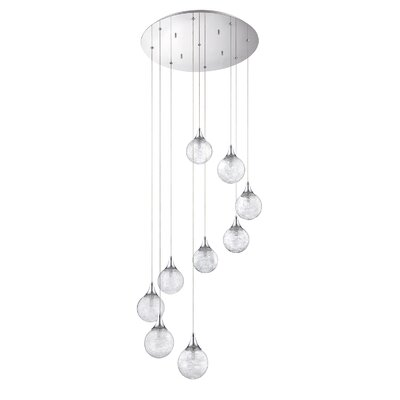 Chesterton 9-Light Cascade Pendant