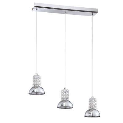 Millenium 3-Light Kitchen Island Pendant