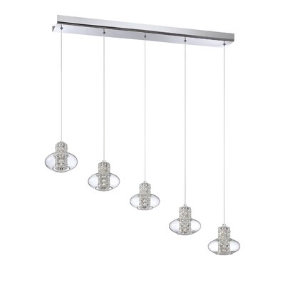 Aria 5-Light Kitchen Island Pendant