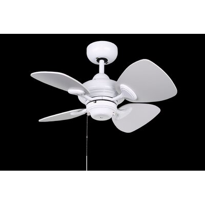24 Aires 4-Blade Ceiling Fan Finish: White