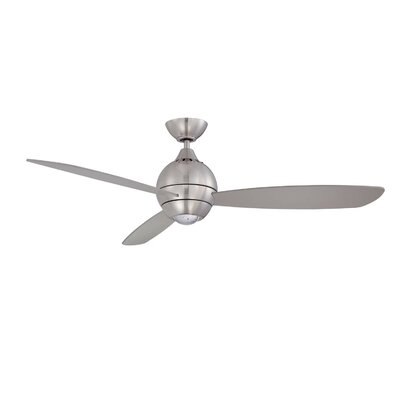 52 Sphere 3-Blade Ceiling Fan with Wall Remote