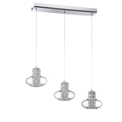 Aria 3-Light Kitchen Island Pendant