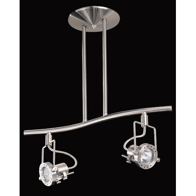 Eris 2-Light Kitchen Island Pendant