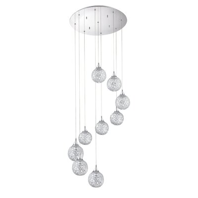 Solaro 9-Light Cascade Pendant