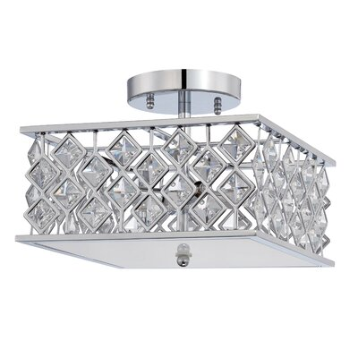 Milano 4-Light Semi Flush Mount