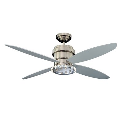 52 Optica 4-Blade Ceiling Fan with Wall Remote