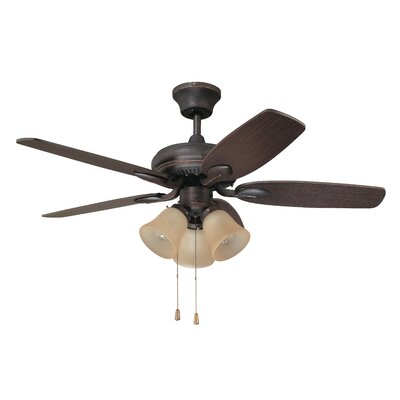 42 Cordova 5-Blade Ceiling Fan Finish: Copper Bronze
