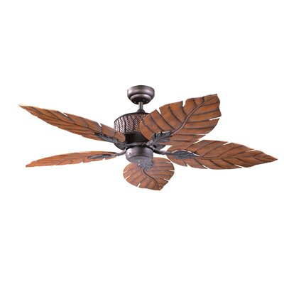 52 Fern Leaf 5-Blade Ceiling Fan