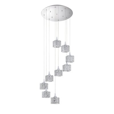 Shimera 9-Light Cascade Pendant