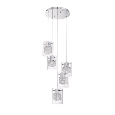 Politan 5-Light Cascade Pendant