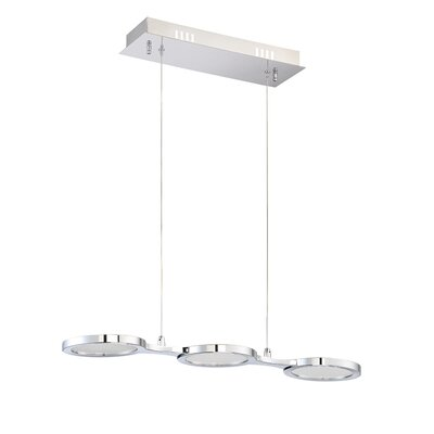 Milan 3-Light Kitchen Island Pendant
