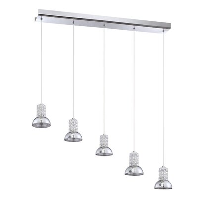 Millenium 5-Light Kitchen Island Pendant