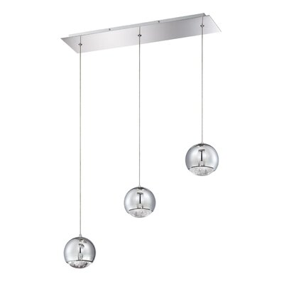 Spumante 3-Light Kitchen Island Pendant