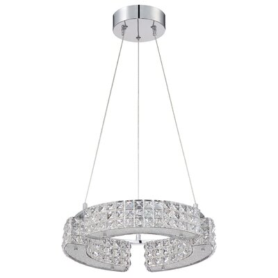 Carina 6-Light Crystal Pendant