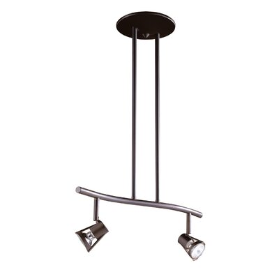 Sorella 2-Light Kitchen Island Pendant Finish: Oil Rubbed Bronze