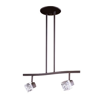 Nova 2-Light Kitchen Island Pendant Finish: Oil Rubbed Bronze