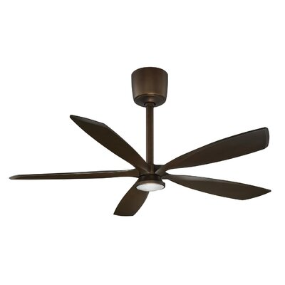 54 Phantom 5-Blade Ceiling Fan with Remote Finish: Architectural Bronze