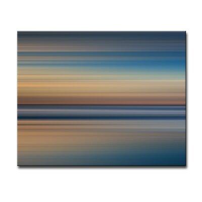 'Blur Stripes XXIX' Graphic Art on Canvas Size: 20