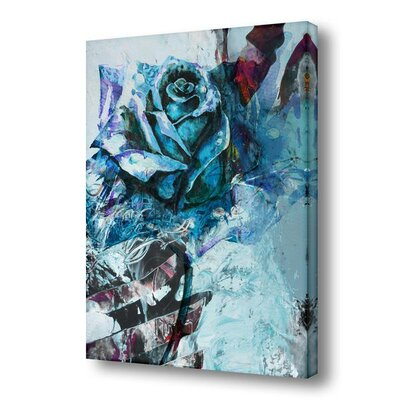 "'Painted Petals XXXIX' Painting Print on Wrapped Canvas Size: 30"" H x 20"" W x 1.5"" D PP39-GWC3020"