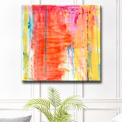 'Translucent Color' Oil Painting Print on Canvas Size: 12