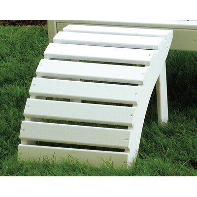 Folding Ottoman Finish: Bright White