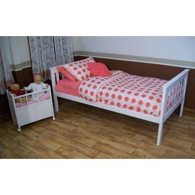 Mission Bed Bed Frame Color: White, Size: Full Mission Bed