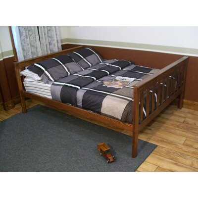 Mission Bed Size: Twin Mission Bed, Bed Frame Color: Asbury