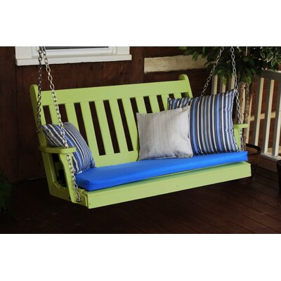 Traditional English Porch Swing Finish: Tropical Lime