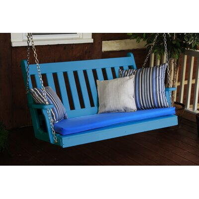 Traditional English Porch Swing Finish: Blue