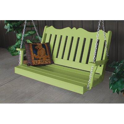 Nicholas English Porch Swing Finish: Tropical Lime