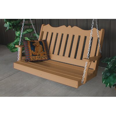 Nicholas English Porch Swing Finish: Cedar