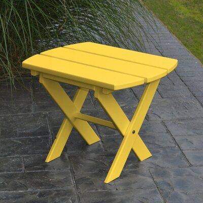 Folding End Table Color: Lemon Yellow