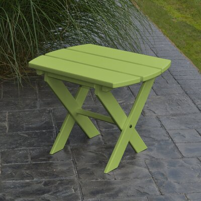 Folding End Table Color: Tropical Lime