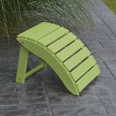 Folding Ottoman Finish: Tropical Lime