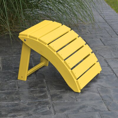 Folding Ottoman Finish: Lemon Yellow