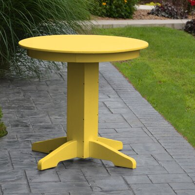 Dining Table Finish: Lemon Yellow