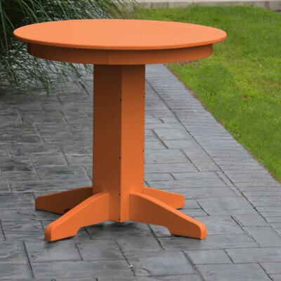 Dining Table Finish: Orange