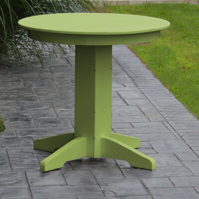 Dining Table Finish: Lime Green