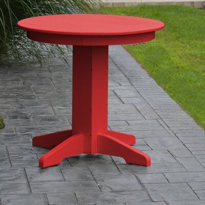 Nettie Dining Table Finish: Bright Red