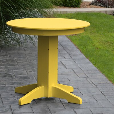 Nettie Dining Table Finish: Lemon Yellow