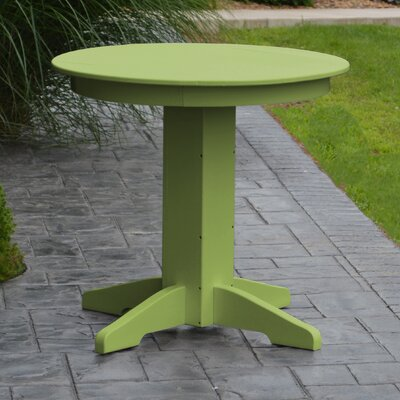 Nettie Dining Table Finish: Lime Green