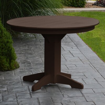 Nettie Dining Table Finish: Tudor Brown