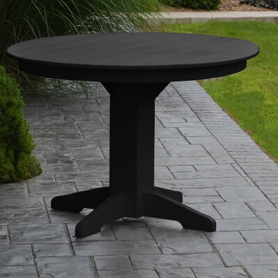 Nettie Dining Table Finish: Black