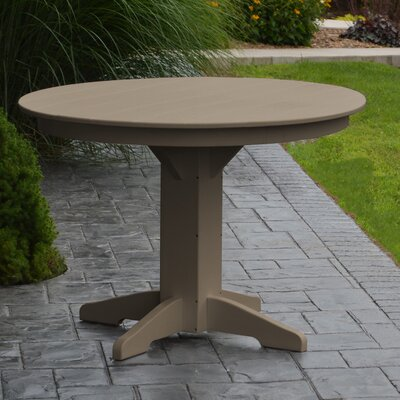 Nettie Dining Table Finish: Weathered Wood