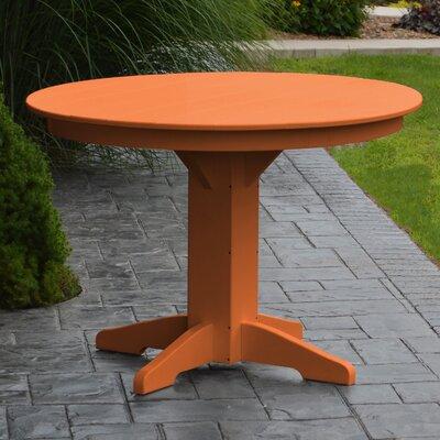 Nettie Dining Table Finish: Orange