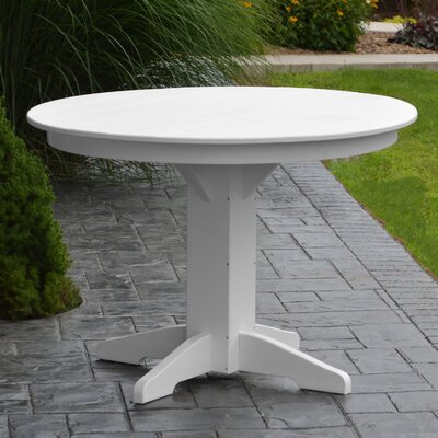 Nettie Dining Table Finish: White