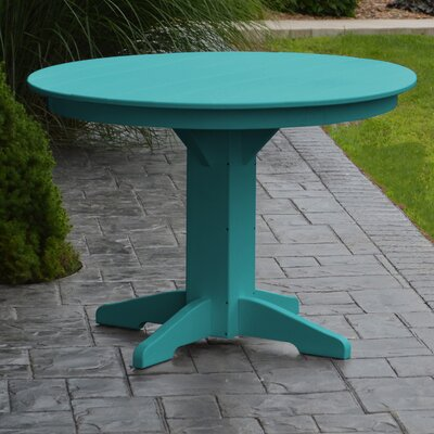 Nettie Dining Table Finish: Aruba Blue