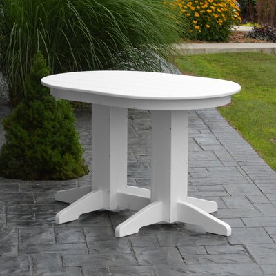Nettie Dining Table Color: White, Table Size: 72 L x 33 W