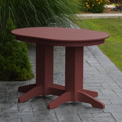 Nettie Dining Table Color: Cherrywood, Table Size: 60 L x 33 W