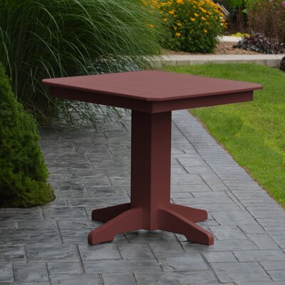 Nettie Dining Table Color: Cherrywood, Table Size: 44 L x 44 W